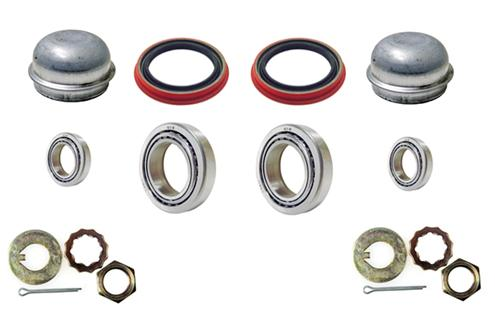 Mustang Front Brake Rotor Installation Hardware Kit (87-93) 5.0