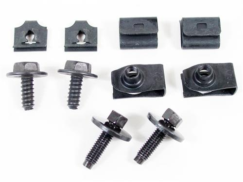 86-93 MUSTANG FAN SHROUD HARDWARE KIT