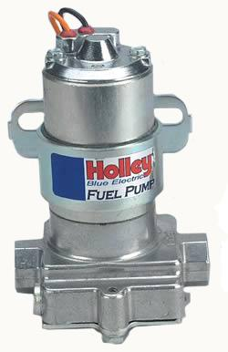 Holley Carbureted Inline Electric Fuel Pump w/ Regulato