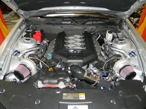 Hellion Mustang Twin Turbo Kit (11-14) GT 5.0L 1113GT-TWIN