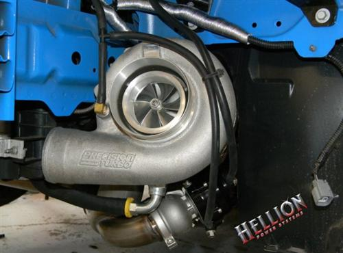 2011-2013 Mustang V6 Hellion Single Turbo System