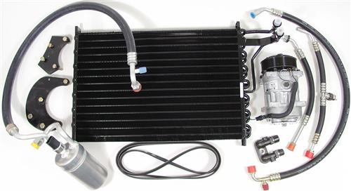 Mustang Air Conditioner (A/C) Conversion Kit, R-12 - R-134 (87-93)
