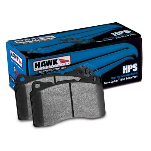 Hawk Mustang Front Brake Pads HPS Compound  (87-93) 5.0