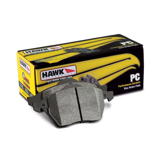 Mustang Hawk Rear Brake Pads Ceramic Compound (94-04) Cobra-Bullitt-Mach 1