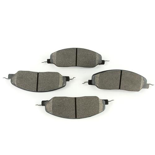 Hawk Mustang Front Brake Pads - HPS Compound (05-14) GT-V6 HB484F.670