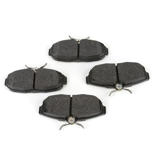 Hawk Mustang Rear Brake Pads - HPS Compound (05-14) HB485F.656 - Hawk Mustang Rear Brake Pads - HPS Compound (05-14) HB485F.656