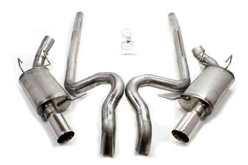 "JBA Mustang 3"" Cat-Back Exhaust System (11-14) GT 5.0L 402642"
