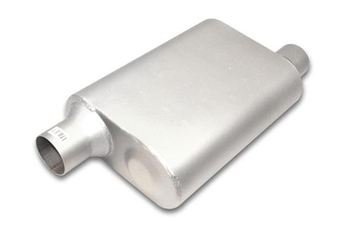 "Jones Full Boar Performance Muffler 2.5"" Offset Inlet/Outlet"