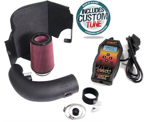 JLT Mustang Black Textured Cold Air Intake Tuner Kit  (11-14) GT 5.0L CAIFMG11-K