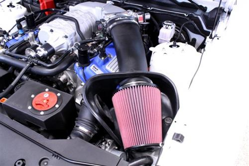 2007-09 JLT Black Textured Big Air Intake Kit, GT500  Http://JLTtruecoldair.Com/Zencart/Index.Php?Main_Page=Product_Info&Cpath=283_284&Products_Id=411