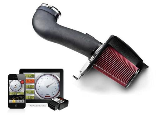 2005-09 Mustang JLT Series 3 Cold Air Intake with Sct-4015. 4.6 GT   Consists Of JLT-Cai3fmg05 And Sct-4015