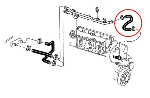 1994 ford mustang heater core diagram