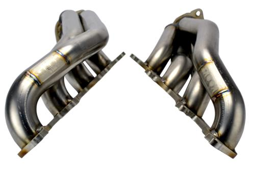 "2011-14 Mustang 5.0L 4V GTshorty Headers 10-12 Hp Over Stock - Picture of 2011-14 Mustang 5.0L 4V GTshorty Headers 1 7/8"" Primaries 3"" Collectors, 3/8"" Thick Flanges"