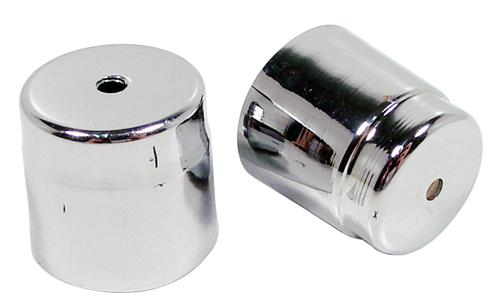 Mustang A/C Line Cap Covers Chrome (94-04)