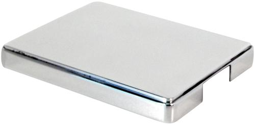 Mustang Aluminum Fuse Box Cover Polished (98-04)
