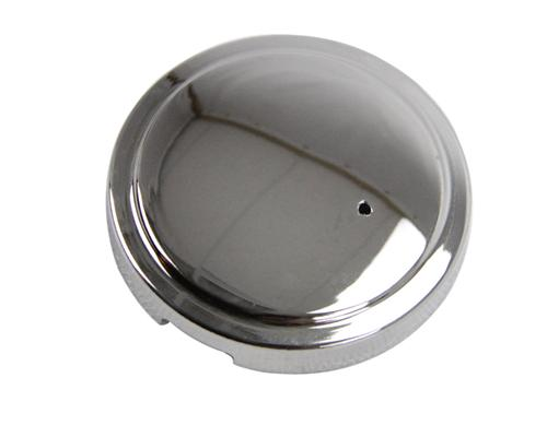 Mustang Windshield Washer Reservoir Cap Cover Chrome (98-04) - Picture of Mustang Windshield Washer Reservoir Cap Cover Chrome (98-04)