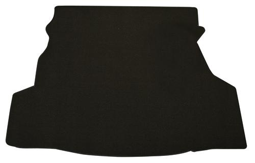Coupe Black Trunk Mat, Without Shaker 1000  (07-09)