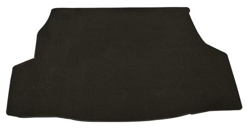 Mustang Convertible Black Trunk Mat without Shaker 1000 Black (07-09)