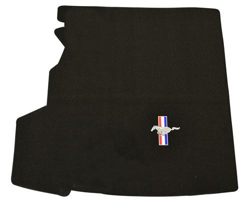 Mustang Coupe Trunk Mat with Pony Logo, with Shaker 1000 (05-06)