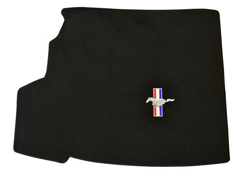 Mustang Convertible Trunk Mat with Pony Logo, W/Shaker (05-06)