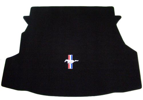 Mustang Coupe Trunk Mat with Pony Logo (10-12)