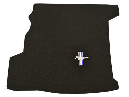 Mustang Coupe Trunk Mat with Pony Logo, with Shaker  (07-09)