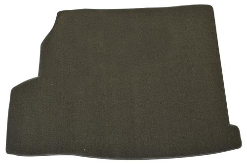 Mustang Convertible Black Trunk Mat, with Shaker 1000 (07-09)