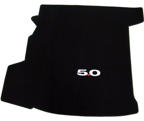 Mustang Coupe Trunk Mat with 5.0 Logo (11-12)