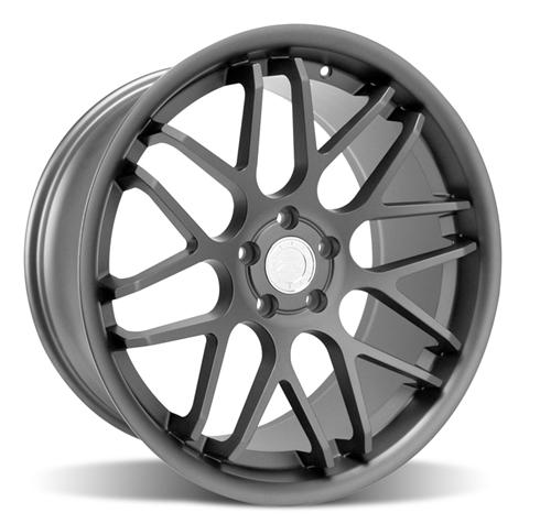 Mustang Downforce Wheel - 20x10 Graphite (05-14) - Mustang Downforce Wheel - 20x10 Graphite (05-14)