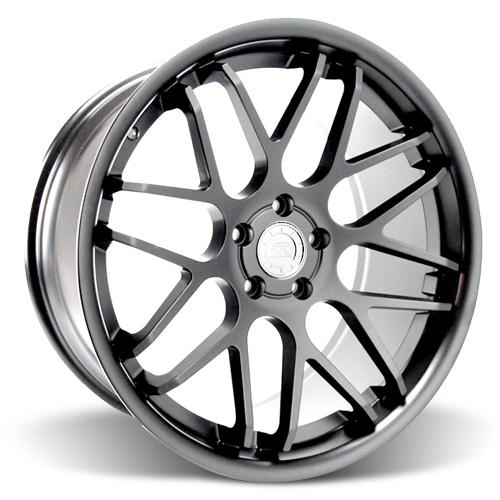 Mustang Downforce Wheel - 20x10 Graphite (05-15) - Mustang Downforce Wheel - 20x10 Graphite (05-15)