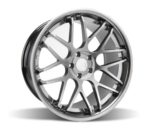 Mustang Downforce Wheel - 20x10 Platinum (05-14) - Mustang Downforce Wheel - 20x10 Platinum (05-14)