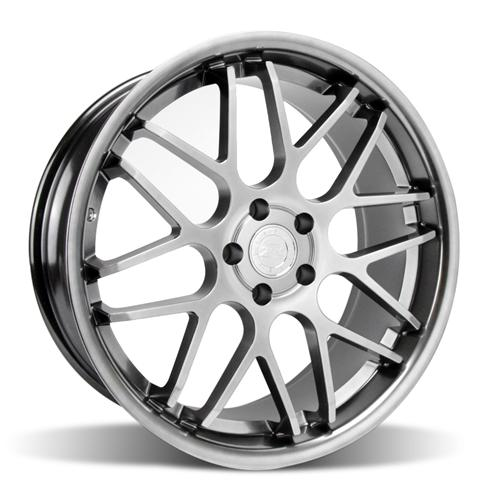 Mustang Downforce Wheel - 20x8.5 Platinum (05-14) - Mustang Downforce Wheel - 20x8.5 Platinum (05-14)