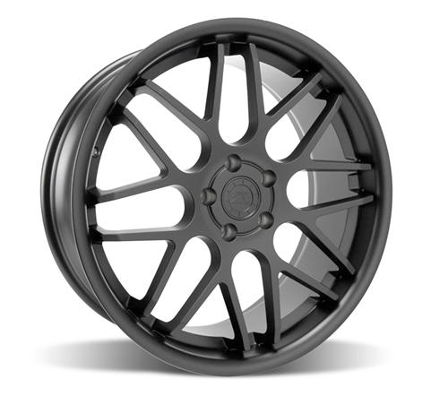 Mustang Downforce Wheel - 20x8.5 Matte Black (05-14) - Mustang Downforce Wheel - 20x8.5 Matte Black (05-14)