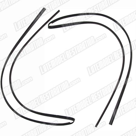 Mustang Windshield Weatherstrip Pair (89-93) Convertible