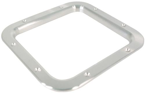Mustang Shifter Trim Bezel for Manual Transmission Satin Billet  (87-93)