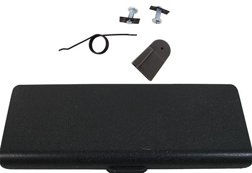 Mustang Ash Tray Door And Repair Kit Black (87-93)