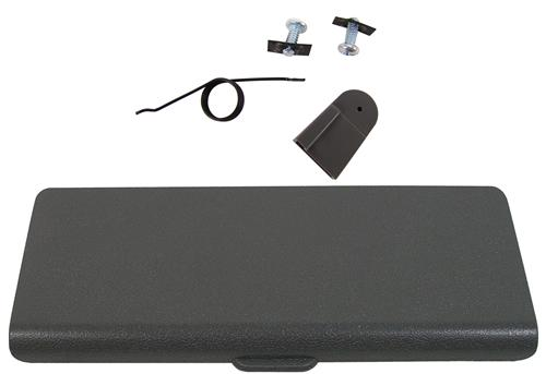 Mustang Ash Tray Door And Repair Kit Smoke Gray (87-93)