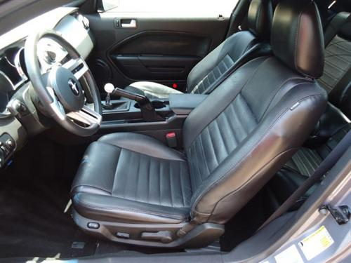 2005-06 Mustang Leather Upholstery Kit, Black, Coupe   - Picture of 2005-06 Mustang Leather Upholstery Kit, Black, Coupe  This Is Acme Replacement Leather for 05-06 Without Side Airbag. Will Fit V6-GT. In 2010+ Grain. I Have Pictures Installed In A Vert Whe