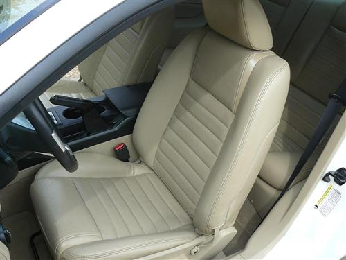 2005-06 Mustang Leather Upholstery Kit, Camel , Coupe   - Picture of 2005-06 Mustang Leather Upholstery Kit, Camel , Coupe