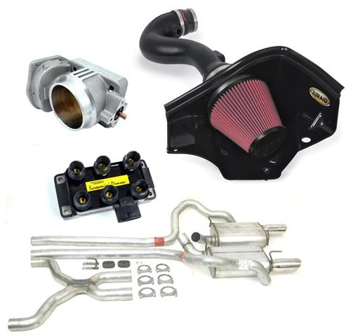 2005-09 Mustang V6 Stage 2 Kit   Aid-450177, BBK-1765, Pdi-31738, Dyn-39434. No Tune Required - Picture of 2005-09 Mustang V6 Stage 2 Kit