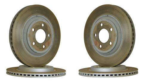 Mustang Factory Takeoff Brake Rotor Set (05-10) GT