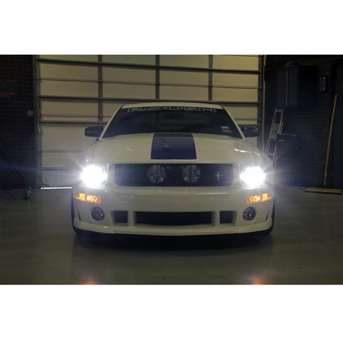 Mustang Headlight & Fog Light LED Bulb Kit (05-12) - Mustang Headlight & Fog Light LED Bulb Kit (05-12)