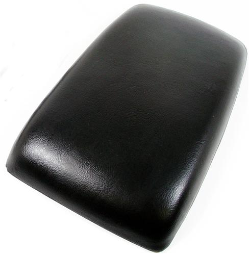 87-93 MUSTANG CENTER CONSOLE ARM REST PAD, BLACK