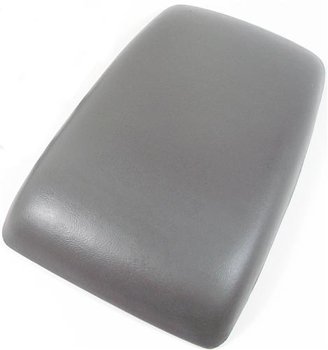87-93 MUSTANG CENTER CONSOLE ARM REST PAD, SMOKE GRAY