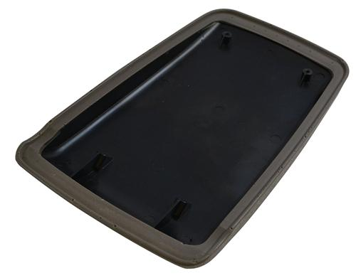 Mustang Center Console Arm Rest Pad Titanium Gray (90-93)