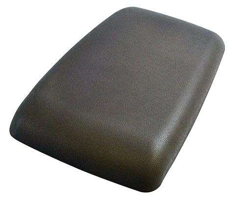 90-93 MUSTANG CENTER CONSOLE ARM REST PAD, TITANIUM GRAY