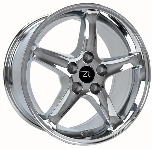 Mustang Cobra R Wheel - 17X9 Chrome (94-04)