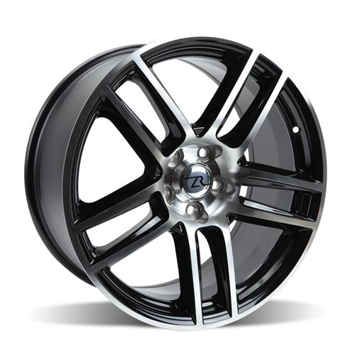 Mustang Boss 302 S Wheel - 19X10  Black Machined (05-14)