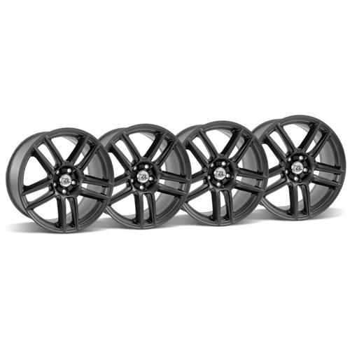 Mustang Boss 302 S Wheel Kit 19X9/10 Matte Black (05-15)