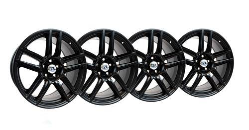 Mustang Boss 302 S Wheel Kit 19X9 &19X10 Matte Black (05-14)